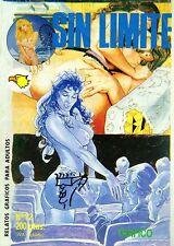 Sin límite nº12. Comic erótico para adultos. Historico: año 1984