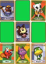 Nintendo Animal Crossing e-reader (2) cards YOU PICK TWO Amiibo ereader