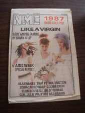 NME 1987 APRIL 11 COOKIE CREW JULIE WALTERS LIKE A VIRGIN ZODIAC MINDWARP