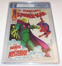 Amazing Spiderman #66 - Graded VF 8.0 Marvel Silver Age - Mysterio cover/issue