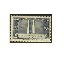 """FRANCE STAMP TIMBRE YVERT N° 317 """" MONUMENT DE VIMY 1F50 BLEU """" NEUF xx LUXE"""