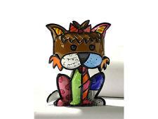 """Romero Britto Miniature Figurine: """"Precious"""" Yorkshire Terrier * New *"""