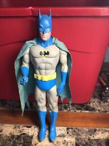"""Vintage 1988 DC Comics 15"""" BATMAN With Cape Action Figure"""
