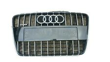 AUDI Q7 10-16  GENUINE FRONT CENTER GRILL ASSEMBLY GLOSS BLACK WITH SLIGHT DAMAG