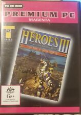 HEROES OF MIGHT AND MAGIC III 3  COMPUTER GAME CDROM CD-ROM PREMIUM PC MAGENTA