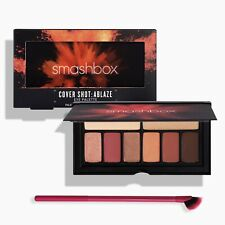SMASHBOX Cover Shot Eye Shadow Eyeshadow Palette,ABLAZE + REAL TECHNIQUES Brush