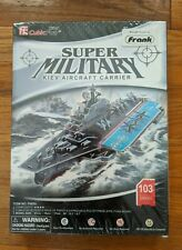 *NEW* KIEV AIRCRAFT CARRIER, 3D PUZZLE Super Military 103 pieces, NIB & SEALED