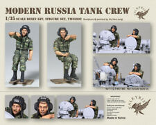Valkyrie Miniature 1/35 Modern Russian Tank Crew for T-72/T-80/T-90 (2 Figures)