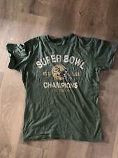Mens Green Bay Packers 47 Brand Shirt Size M Super Soft Super Bowl