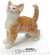 "LC908 - Little Critterz - Orange Tiger Kitten  ""Ginger""  (Buy 5 get 6th free!)"