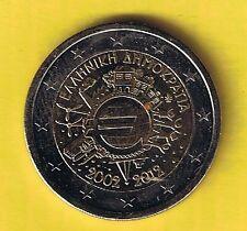 Griechenland 2 Euro Sondermünze 2012, 10 J.Bargeld, bankfrisch aus Rolle /82 le