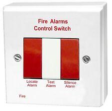 Aico ei411h prueba Hush & localizar remoto de alarma de incendio interruptor de control de uso con ei168rc