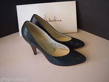 Vintage 1980'S Black Bill Valentine Heels Size 6.5 B Purchased For $73