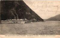 Vintage Postcard - Early 1900s Steel  Steamer Hendrick Hudson 5500 Guests #3308