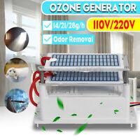 110V / 220V Ozone Generator 14/21/28g/h Extra Ozonizer Air Purifier Disinfection
