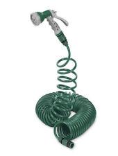 Grüne Garten-Spiralschläuche