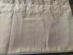"""COUNTRY CURTAINS BEIGE/TAUPE VALANCE 74""""W X 17""""L"""