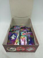1995 Collect A Card - COCA COLA COKE Caps Box 15 Packs Slammers