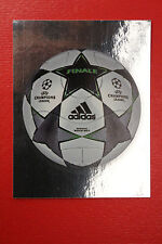 PANINI CHAMPIONS LEAGUE 2008/09 # 2 THE BALL WITH BLACK BACK MINT!!!