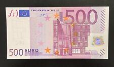France Billet 500€ Neuf 2002 T.001 Premier Tirage Signature Duisenberg