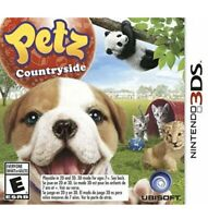 Petz Countryside Nintendo 3DS Kids Game Pets Cats Dogs Animals Puppies Kittens