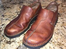 Clarks Active Air Men's Brown Leather Loafers Shoes Size 9M