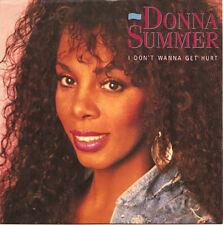 "DONNA SUMMER - I Don't Wonna Get Hurt  7"" 45"