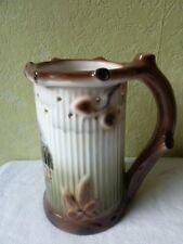 Pot Porcelaine Verre à Bière Gerold Porzellan Forme Tronc Arbre