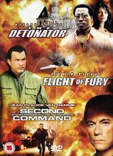 THE DETONATOR FLIGHT OF FURY SECOND IN COMMAND 3 DISC BOX SET SONY UK DVD L NEW