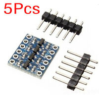 5Pcs 4 Channel IIC I2C Logic Level Converter Bi-Directional Module 5V~3.3V New