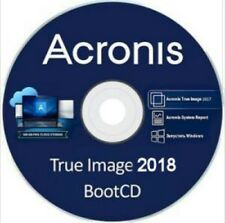 Acronis True Image 2018 Backup Restore Migrate to a another Drive SSD