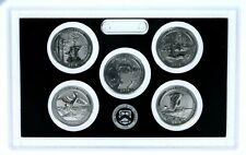 2018 S Silver Reverse Proof Quarters Set No Box or COA Yes We Combine Shipping