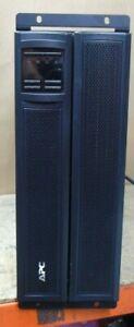APC SMX3000HVNC Smart-UPS X 3000VA Rackmount/Tower with AP9631 Network Card