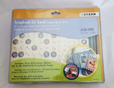 Xyron Scrapbook Kit Travel Includes 830 Pieces NEW