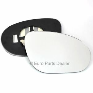 Driver side Clip Convex wing mirror glass for Nissan JUKE 2011-2014