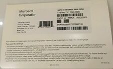 New Sealed Microsoft Windows 10 Pro Professional 64bit DVD & Product Key & PC