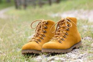 Birkenstock Jackson Women Veloursleder normal Ochre Schuhe Boots 1017331 NEU