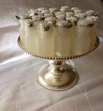 Bubbles - Satin Flower Top - White