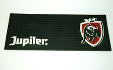 """Jupiler Beer Belgium Logo Rubber Bar Mat Runner Bull 19"""" x 7"""" Barware"""