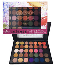 Italia Deluxe 35 Colors Shades Matte & Glow Eye shadow Palette