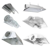 iPower Grow Light Air Cool Tube Reflector Hood For HPS MH Bulb