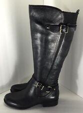 Naturalizer N5 Comfort Womens Black Jovana Wide Shaft Boots Shoe Size 5.5 M