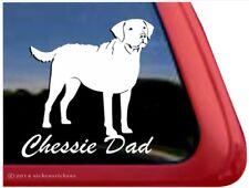 Chessie Dad | Chesapeake Bay Retriever Vinyl Dog Window Decal Sticker