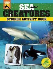 Sea Creatures Sticker Activity Book (Animal Lives), O'Dell, Meghan, Phan, Sandy,
