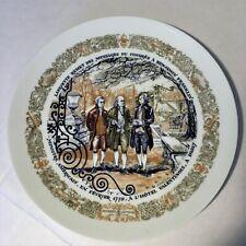 D'Arceau Limoges Historic Event Plates