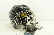 Bauer Reakt 75 Ice Hockey Helmet Combo Black Size Medium (0323-2432)