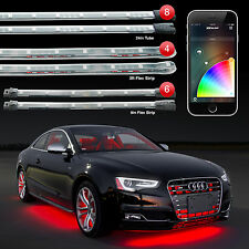 XKchrome iOS Android App Control Interior + Underglow + Wheel LED Light Kit