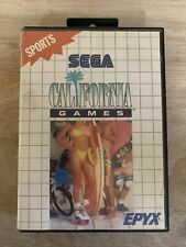 California Games Sega master system game boxed with instructions