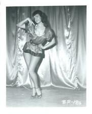 BETTIE PAGE PIN-UP ORIGINAL PHOTO FROM VINTAGE IRVING KLAW NEGATIVE #BP186