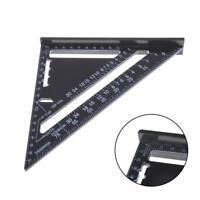 """7"""" Metrische Anschlagwinkeldreieck Alu Layout Geo-Dreieck Dreieck Lineal DE"""